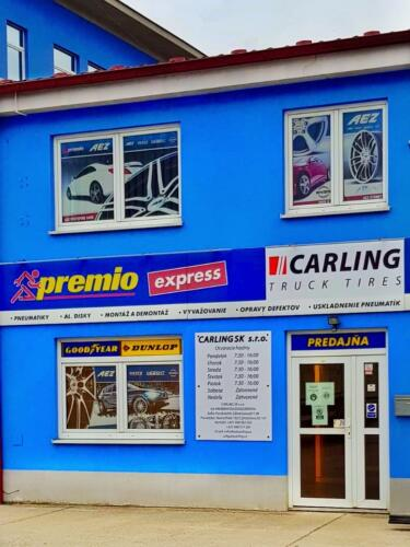 Carling pneuservis Bratislava